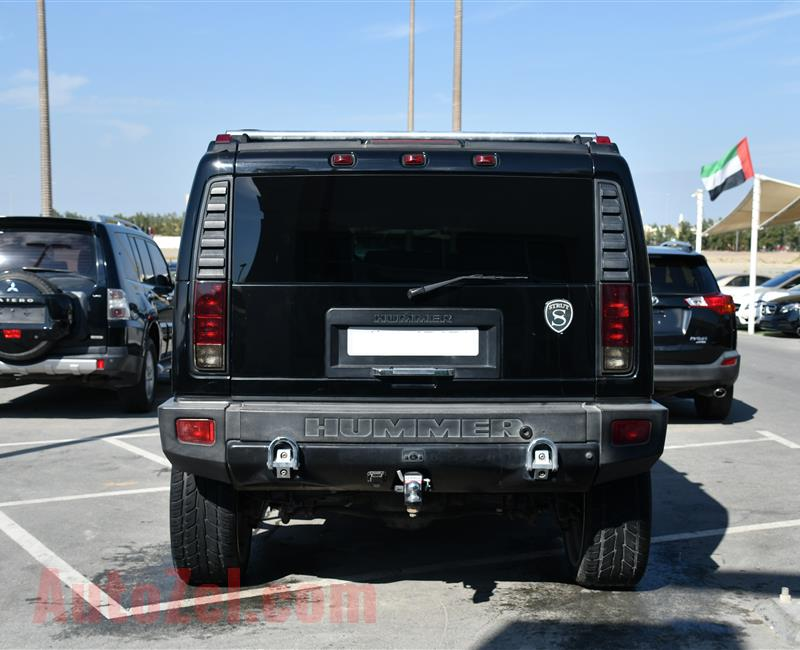 HUMMER H2- 2007- BLACK- 178 000 MILES- AMERICAN SPECS