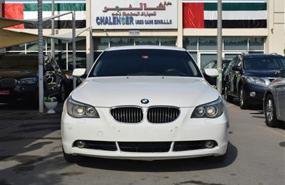 BMW 530i- 2006- WHITE- 179 000 KM
