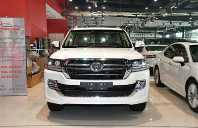 BRAND NEW TOYOTA LAND CRUISER GXR- 2020- WHITE- GCC SPECS