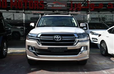 TOYOTA LAND CRUISER GXR- GRAND TOURING- 2020- GOLD- GCC...