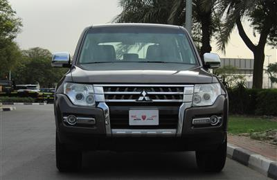 GCC - MITSUBISHI PAJEROGLS V6 - 2015 - EXCELLENT CONDITION...