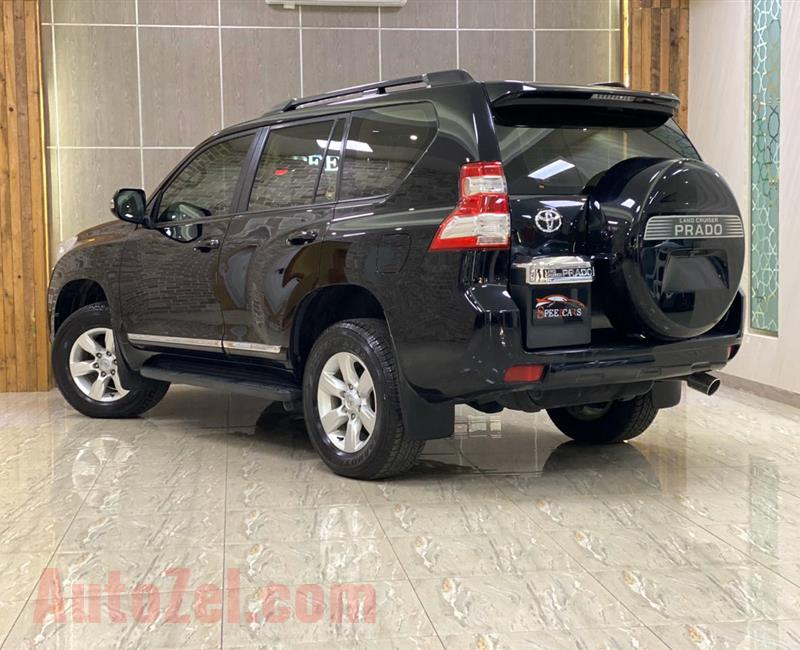 TOYOTA PRADO VXR//2014 BLACK (36000KM) ONLY!!! GCC FULL OPTION /// SERVICE HISTORY