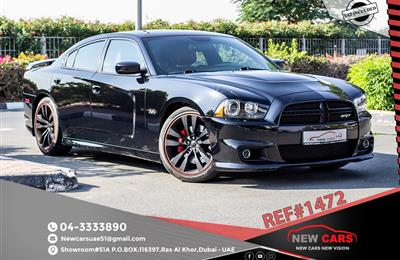 DODGE CHARGER SRT8- 2014- BLACK- 67 109 KM- GCC SPECS