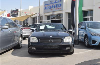 MERCEDES-BENZ SLK- 2004- BLACK- 152 000 KM- GCC