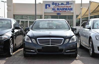 MERCEDES-BENZ E300- 2013- GRAY- 123 000 KM- GCC SPECS