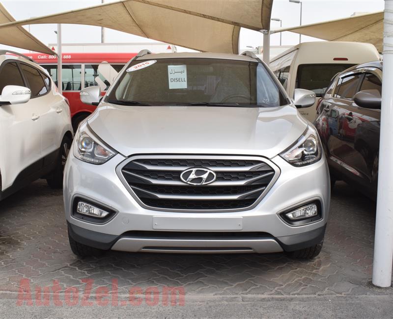 Hyundai Tucson 2015 Silver 65 000 Km Korean Specs