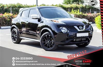 NISSAN JUKE- 2017- BLACK- ASSIST AND FACILITY IN DOWN...