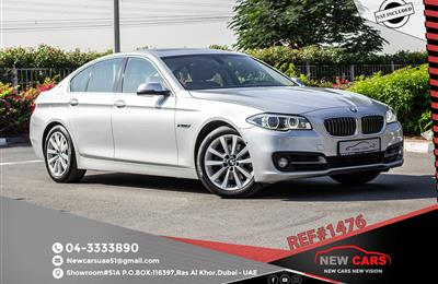 BMW 528i- 2014- ASSIST AND FACILITY IN DOWN PAYMENT- 1365...