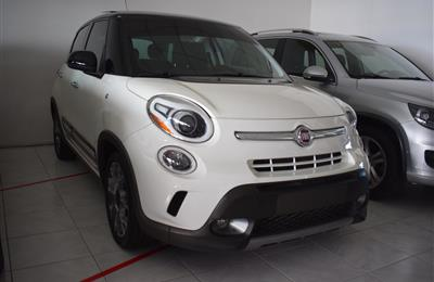 FIAT 500- 2015- WHITE- 38 000 KM- GCC, FULL OPTION TURBO