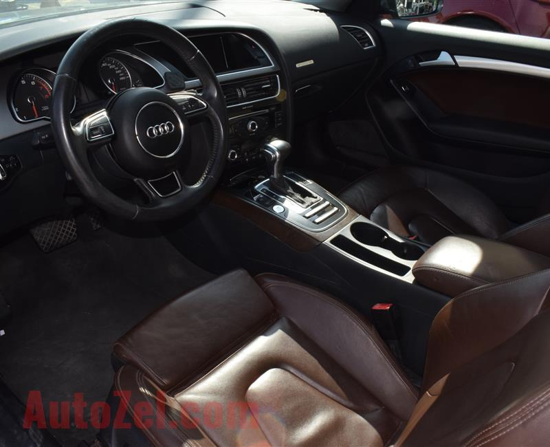 AUDI A5- 2014- GRAY- 98 000 KM- CALL FOR THE PRICE