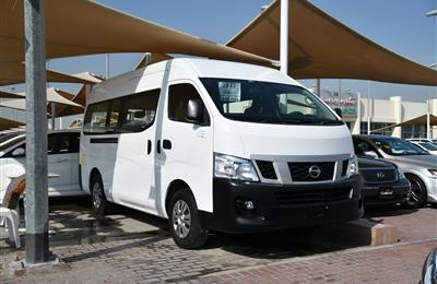 NISSAN NV350 FULL OPTION- 2017- WHITE- 90 000 KM- GCC...