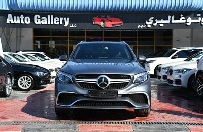 MERCEDES-BENZ GLC300- 2017- GRAY- 12 000 KM- GCC SPECS
