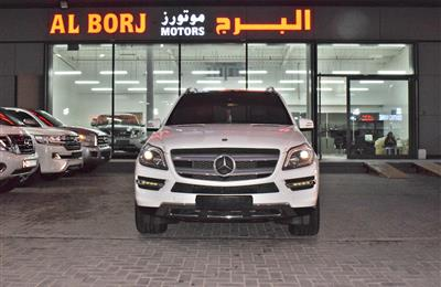 MERCEDES-BENZ GL500 FULL OPTION- 2014- WHITE- 130 000 KM-...
