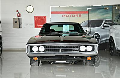 CLASSIC DODGE CHARGER  MODEL 1970 - BLACK - 2000 KM - V8 -...