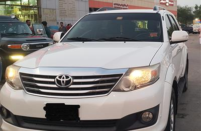 TOYOTA FORTUNER GXR 4.0 MODEL 2014 FOR SALE