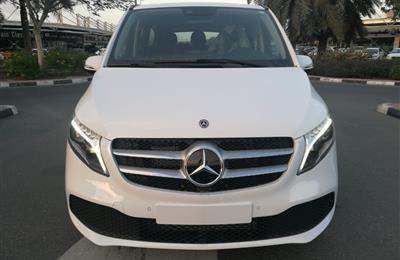 MERCEDES V250 8 SITAR LONG LED GCC 0KM 2020 FOR EXPORT