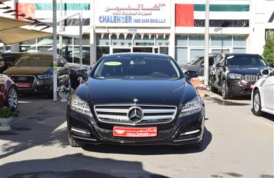 MERCEDES-BENZ CLS356- 2014- BLACK- 166 000 KM- GCC SPECS