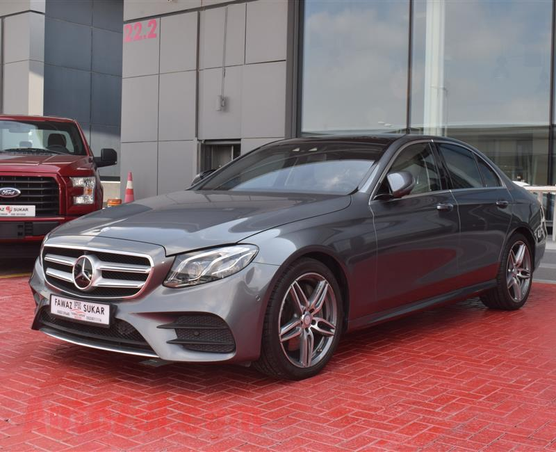 MERCEDES-BENZ E300- 2017- GREY- 22 000 KM- GCC