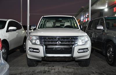 MITSUBISHI PAJERO MODEL 2016 - WHITE - 78000 KM - V6 - GCC...