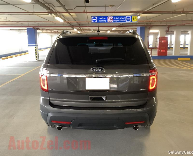 Ford Explorer XLT 2015 - AED 59,500 (cash slightly negotiable) - Mob. # 050 1767 367