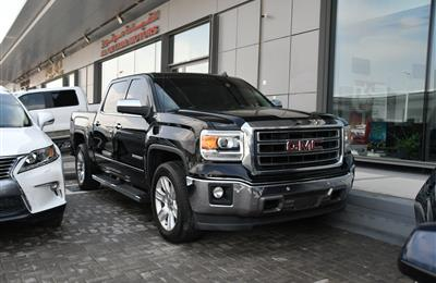 GMC SIERRA NUM  MODEL 2015 - BLACK - 240,000 KM - V8 - GCC...