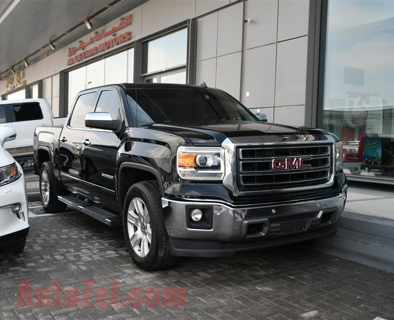 GMC SIERRA NUM  MODEL 2015 - BLACK - 240,000 KM - V8 - GCC