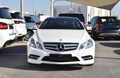 MERCEDES-BENZ E350- 2013- WHITE- 64 000 KM- GCC SPECS