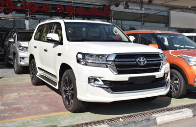 NEW TOYOTA LAND CRUISER GXR- 2020- WHITE- GCC SPECS