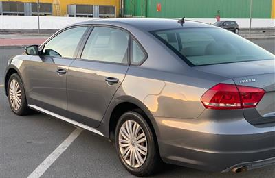 Lady Used Volkswagen Passat 2014 GCC still lovely.