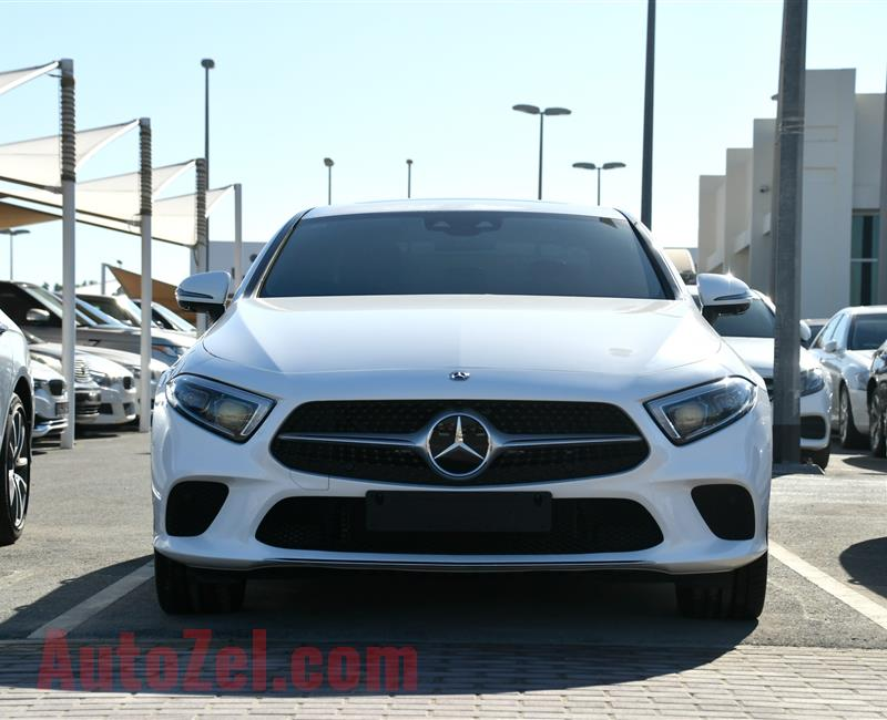 MERCEDES-BENZ CLS400- 2019- WHITE- 9 000 KM- KOREAN SPECS