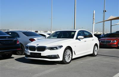 BMW 520i- 2018- WHITE- 26 000 KM- KOREAN SPECS