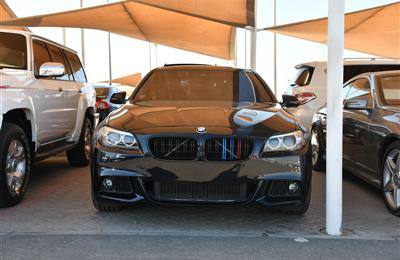 BMW 528i XDRIVE- 2015- BLACK- 63 000 KM- KOREAN SPECS
