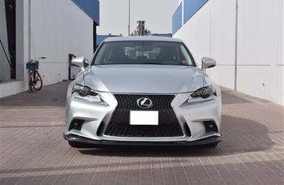 LEXUS IS250- 2015- SILVER- 30 000 KM- US SPECS