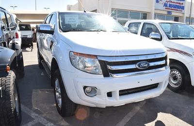 FORD RANGER  XLT MODEL 2013 - WHITE - 204,000 KM - V6 -...
