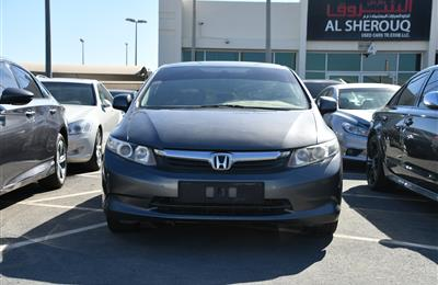 HONDA CIVIC- 2012- GREY- 121 000 KM- JAPANESE SPECS