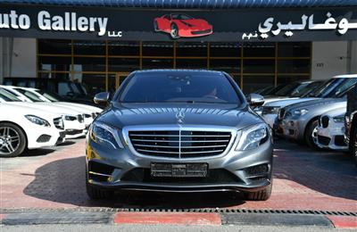 Mercedes-Benz S 500 AMG 35000Kms No Accident 2016 GCC