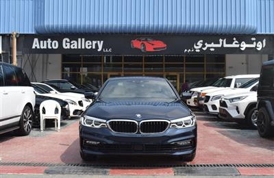 BMW 540 i Master Class Warranty and Service 2017 GCC