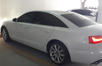 Audi A6 2 LTR Turbo 2014