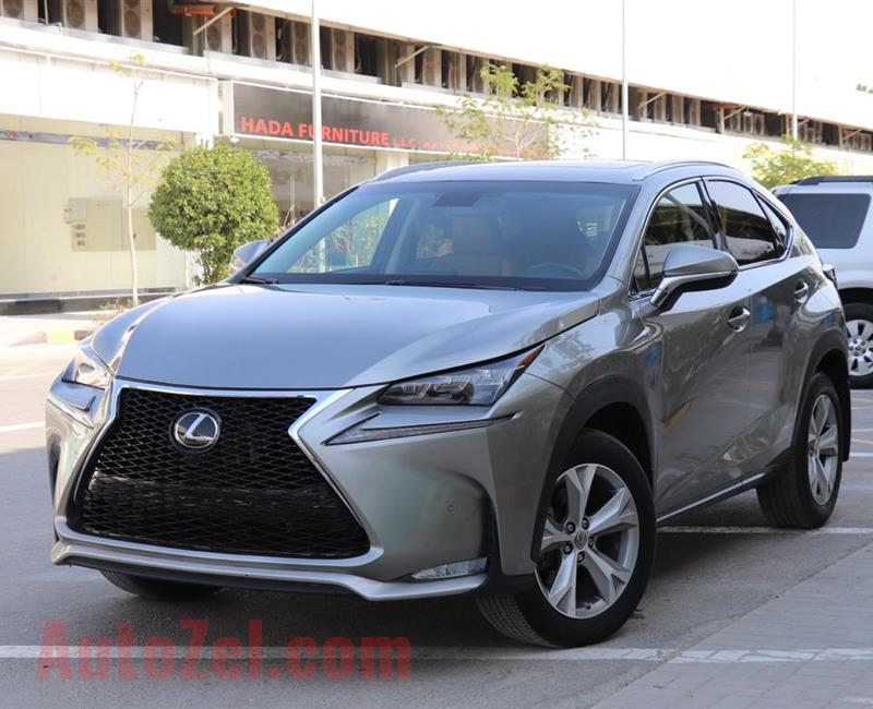 Lexus NX 2017 platinum full options