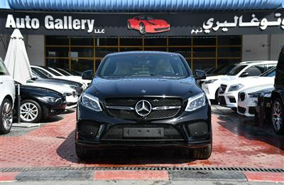 BRAND NEW MERCEDES-BENZ GLE43- 2019- BLACK- GCC SPECS