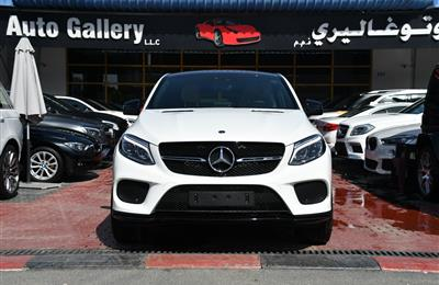 BRAND NEW MERCEDES-BENZ GLE43- 2019- WHITE- GCC SPECS-...
