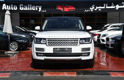 RANGE ROVER VOGUE SUPERCHARGED- 2014- WHITE- 120 000 KM-...
