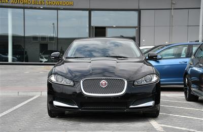 JAGUAR XF- 2014- BLACK- 110 000 KM- GCC