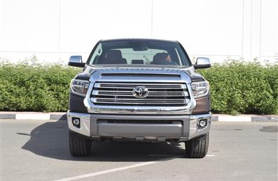 BRAND NEW TOYOTA TUNDRA- 2020- BROWN- CANADIAN SPECS
