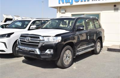 TOYOTA LAND CRUISER GXR- 2019- BLACK- GCC SPECS
