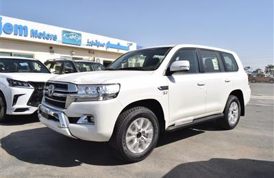 TOYOTA LAND CRUISER VX 5.7- 2020- WHITE- GCC SPECS