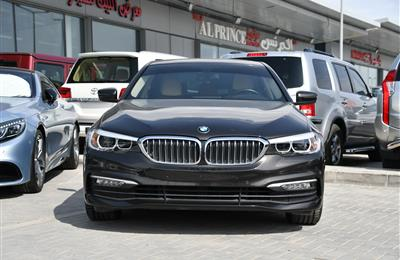 BMW 520i- 2018- BROWN- 32 000 KM- GCC