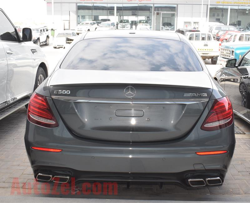 MERCEDES BENZ E300 MODEL 2017 - GREY - V6 - CAR SPECS IS AMERICAN