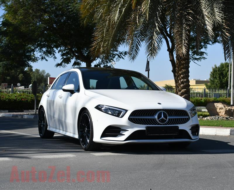 2019 Mercedes-Benz A 250 2019 - 5 YEARS WARRANTY - SERVICE CONTRACT - GARGASH - O DOWNPAYMENT