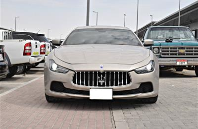 MASERATI MODEL 2014 - GOLD - 136.000 KM - V6 - CAR SPECS...